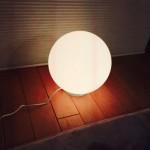授乳用ライトを購入しました!まん丸のコードレスLEDライト♪