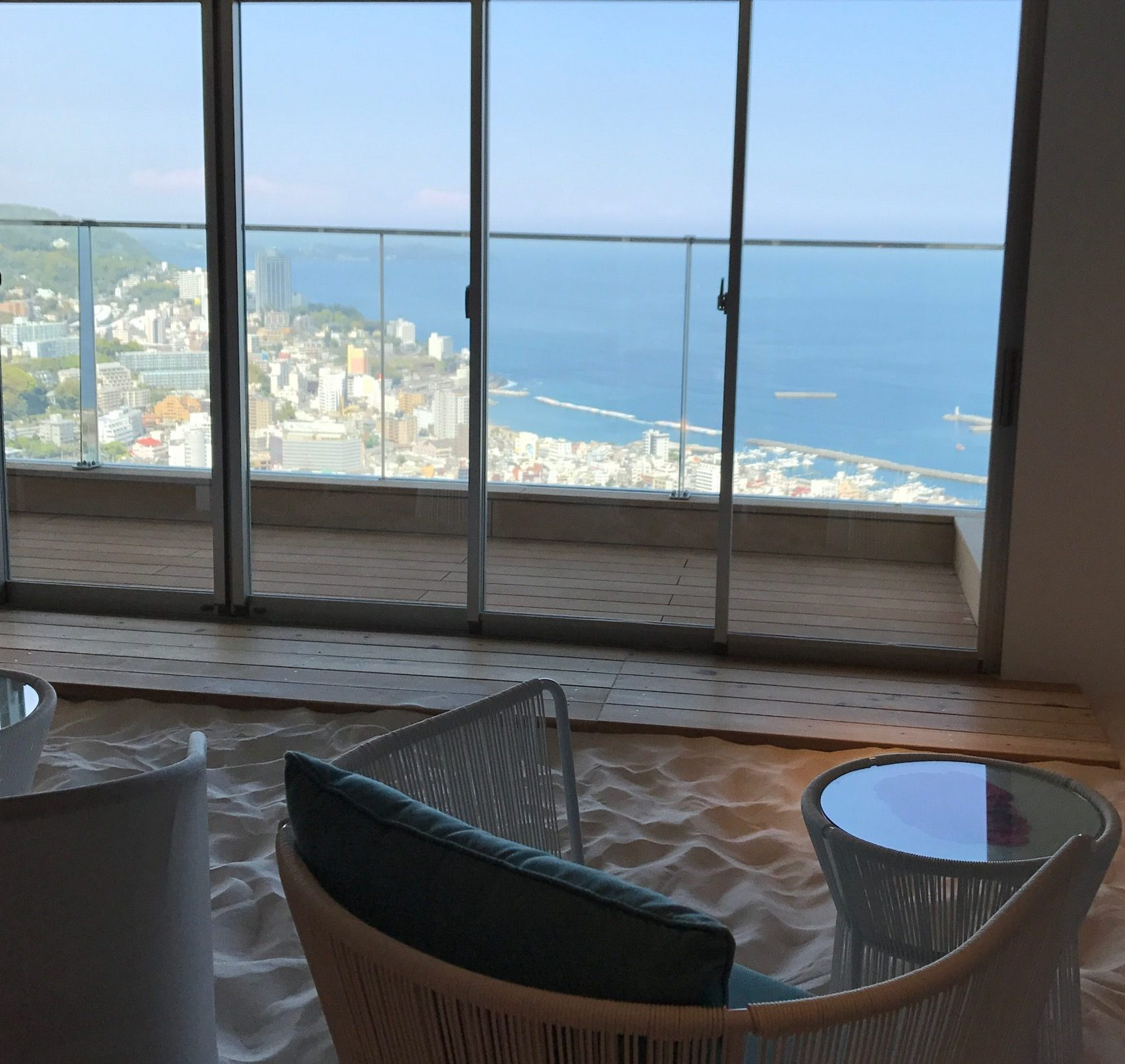 リゾナーレ熱海 子連れ 赤ちゃん連れ旅行 ソラノビーチ カフェ