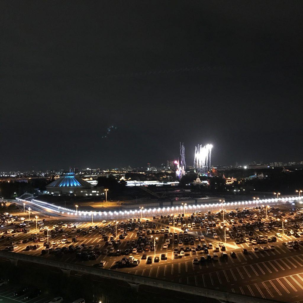 東京ベイ舞浜ホテルクラブリゾート ディズニー 子連れ リヴィエラクラブ パークビュー 花火が見える